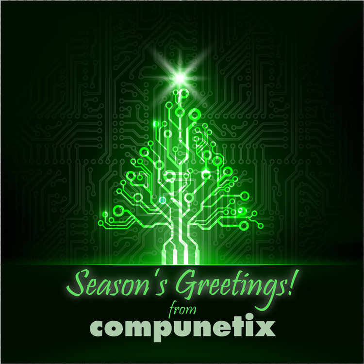 Season's Greetings from Compunetix!