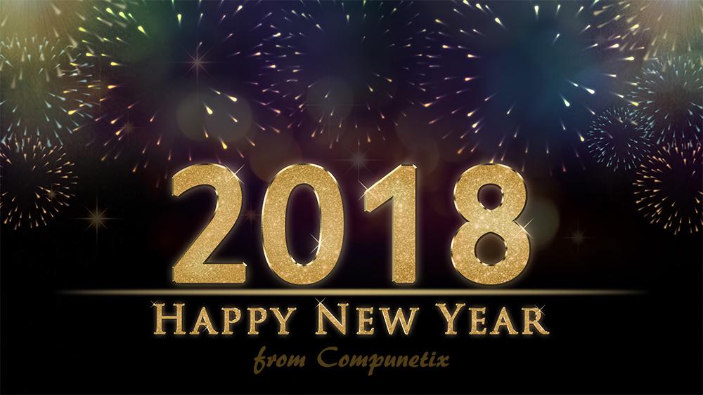2018 New Year's Graphic